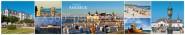 Panoramapostkarte Ahlbeck Impressionen