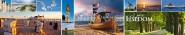 Panoramapostkarte Usedom Impressionen