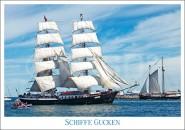 Postkarte Schiffe gucken