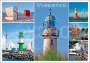 Postkarte Warnemünde