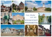 Postkarte WF Viele Grüße aus der Lessingstadt 1