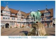 Postkarte WF Stadtmarkt
