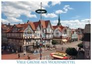 Postkarte WF Viele Grüße