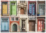 Postkarte WF Türen