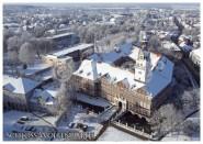 Postkarte WF Winterschloss aus der Luft
