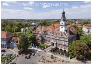 Postkarte WF Schloss aus der Luft