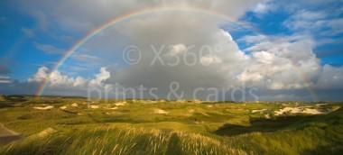 XL-Postkarte Regenbogen