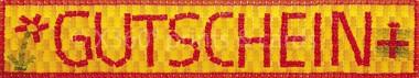 Panoramapostkarte Gutschein (Gummibärchen)