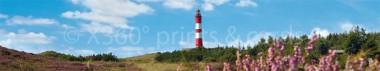 Panoramapostkarte Amrum Leuchtturm