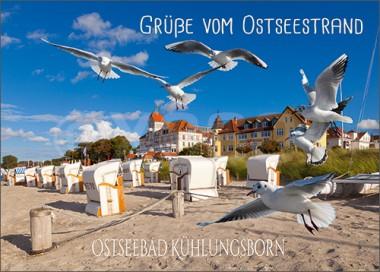 3D-Postkarte Ostseebad Kühlungsborn