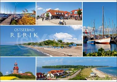 Postkarte Ostseebad Rerik Mischkarte