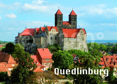 3D Postkarte Quedlinburg