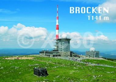 3D Postkarte Brocken