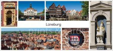XL-Postkarte Lüneburg Impressionen