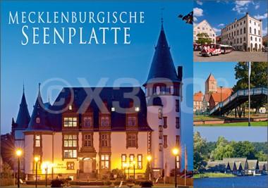 Postkarte Mecklenburgische Seenplatte