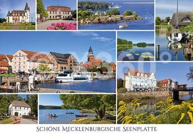 Postkarte Schöne Seenplatte