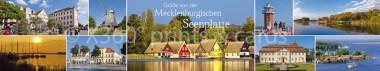 Panoramapostkarte Mecklenburgische Seenplatte