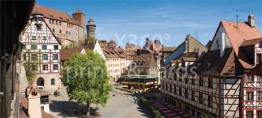 XL-Postkarte Nürnberg Dürerblick