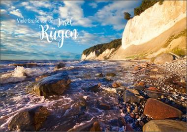 3D-Postkarte Insel Rügen