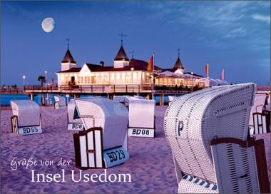 3D-Postkarte Usedom