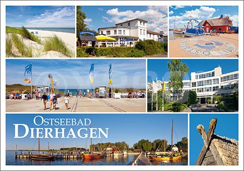 Postkarte Ostseebad Dierhagen