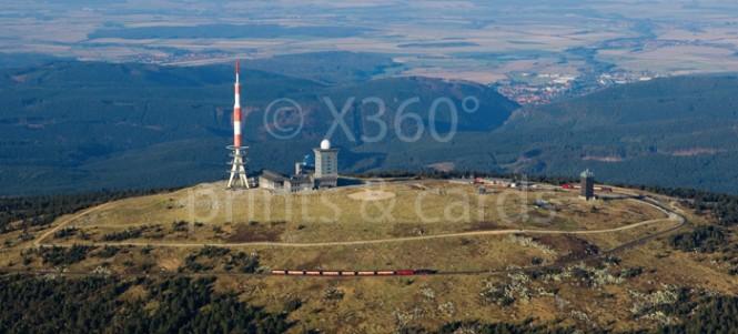 XL-Postkarte Brocken
