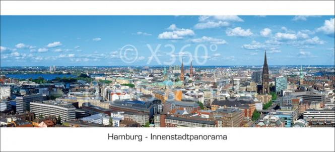 XL-Postkarte HH Stadtpanorama