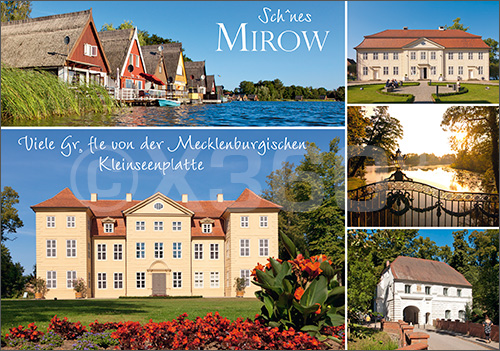 Postkarte Mirow