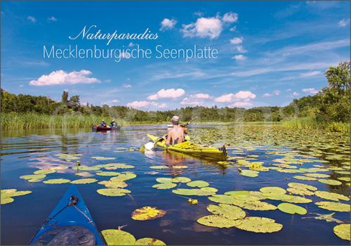 Postkarte Seenplatte