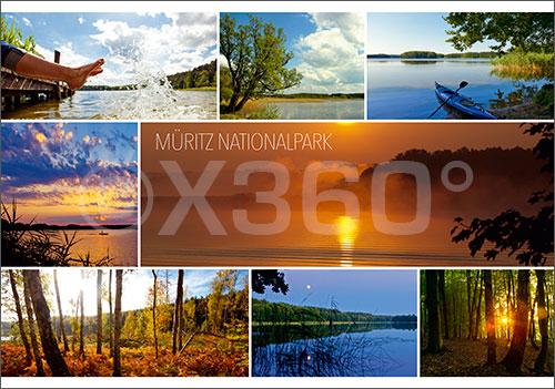 Postkarte Müritz Nationalpark