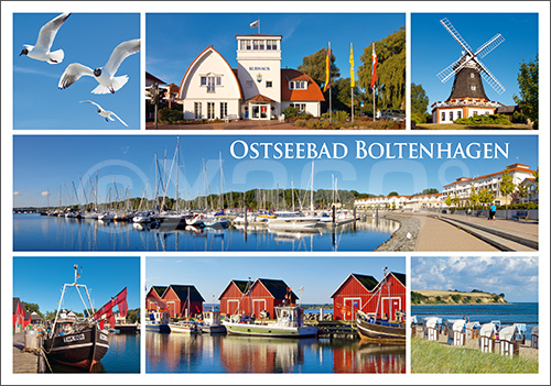 Postkarte Ostseebad Boltenhagen